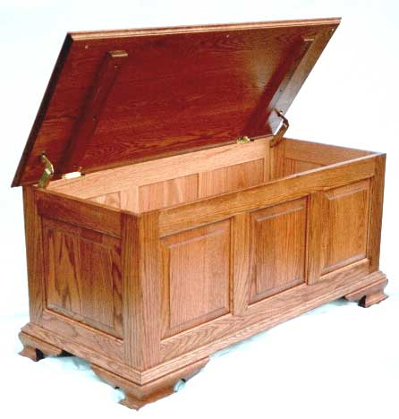 Materials leash 4 ten hope chest plans XTC Oak or.